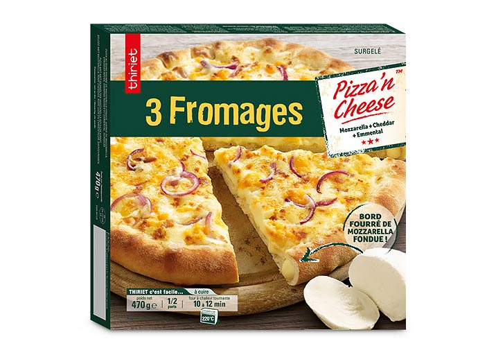 Pizza'n cheese™ 3 fromages