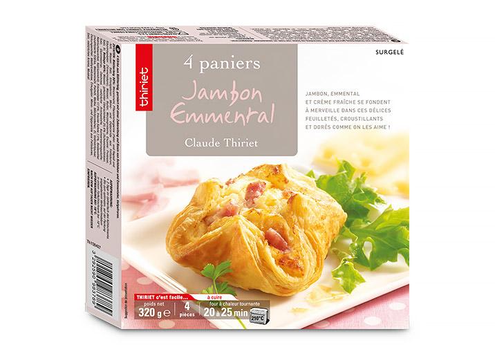 4 Paniers jambon/emmental