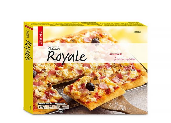 Lot de 2 x 1 pizza familiale au choix