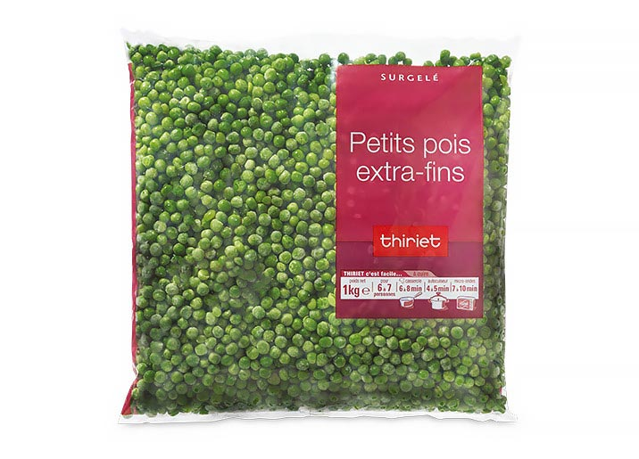 Petits pois extra-fins