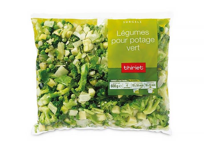 Les 2 légumes pour potage