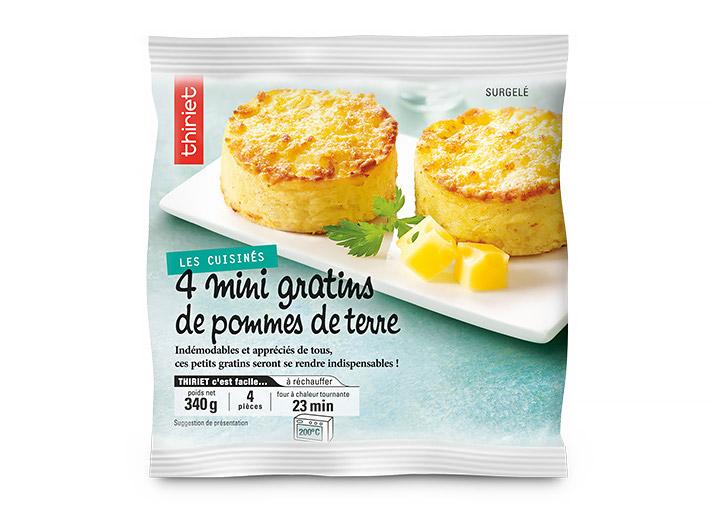 a88b589ad6a 4 Mini gratins de pommes de terre surgelé