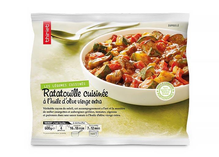 Ratatouille cuisinée