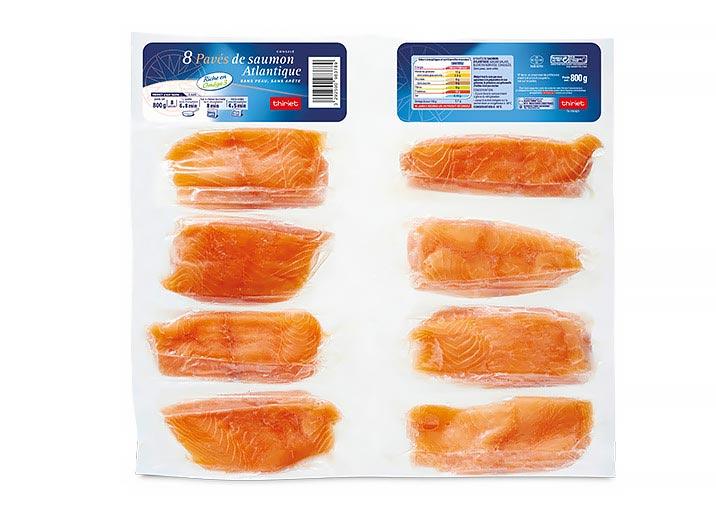 8 Pavés de saumon Atlantique