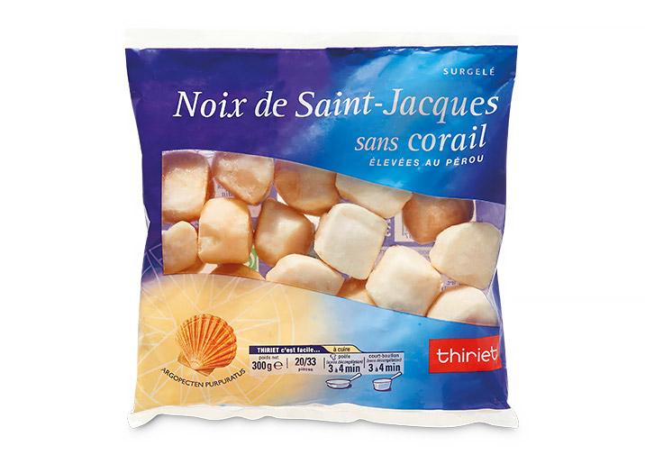 Noix de St-Jacques sans corail