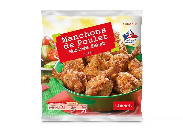 Manchons de poulet marinés au choix : le 2ème à -50%