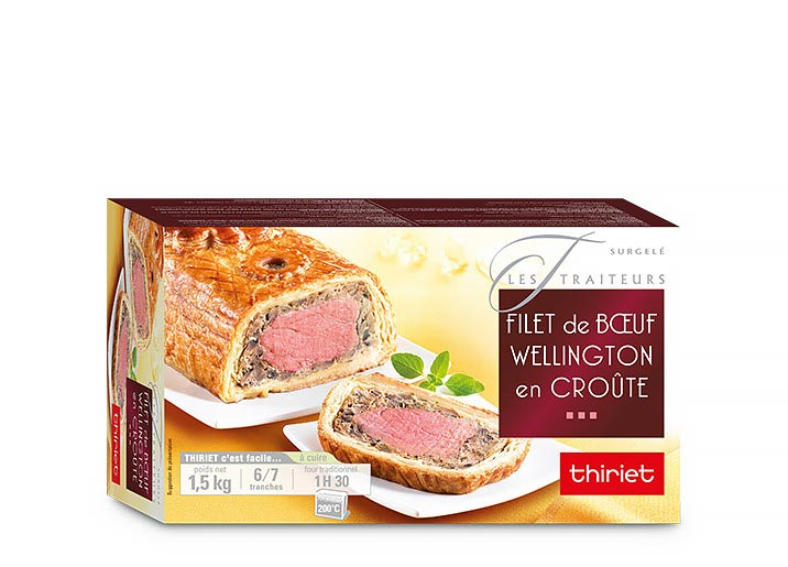 Filet de boeuf Wellington en croûte
