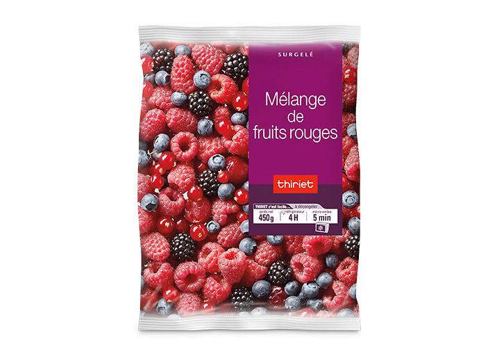 Mélange de fruits rouges