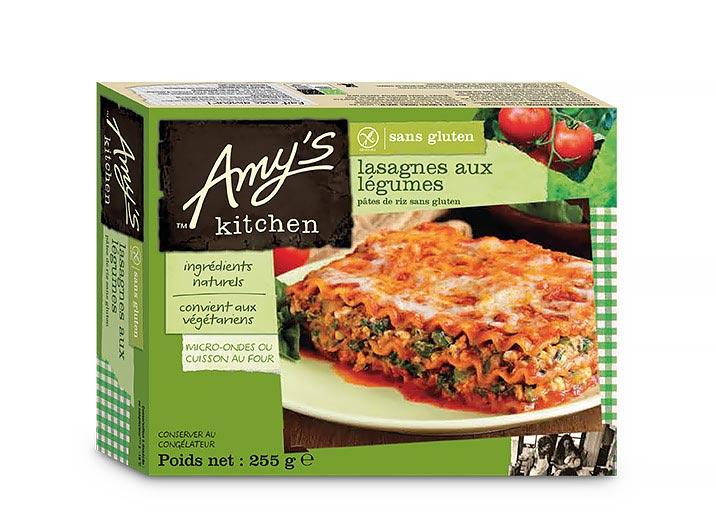 Lasagnes aux légumes sans gluten