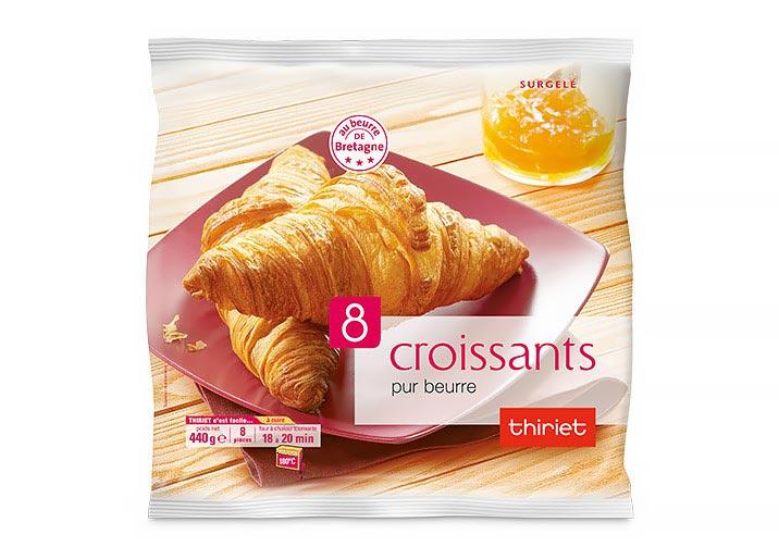 8 Croissants pur beurre