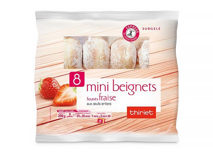 Les 16 mini beignets parmi 4 recettes au choix !