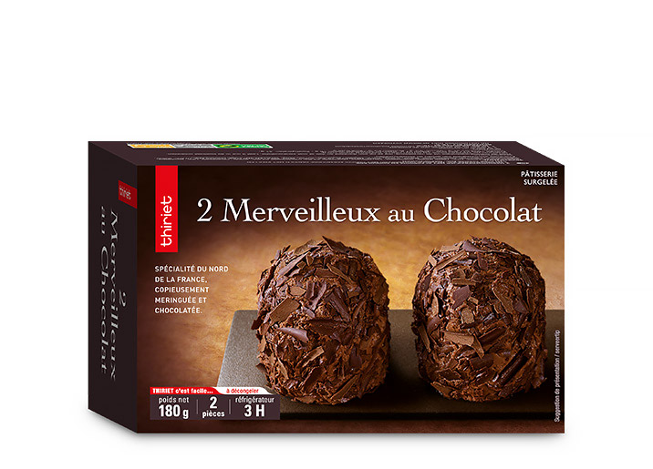 2 Merveilleux au chocolat