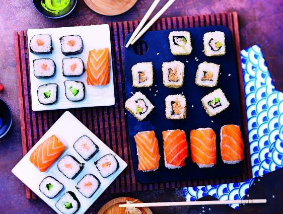Assortiment de 26 sushis
