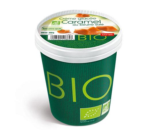 Pot Crème glacée Caramel beurre salé biologique