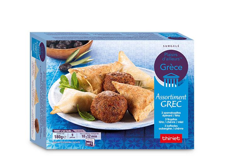 Assortiment grec