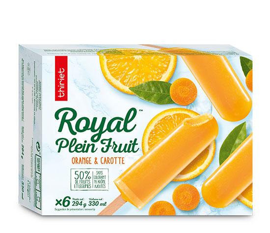 Les 12 Royal™ Plein Fruit au choix