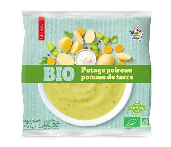 Potage poireau/pomme de terre biologique