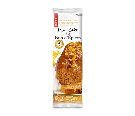 Cake au pain d'épices