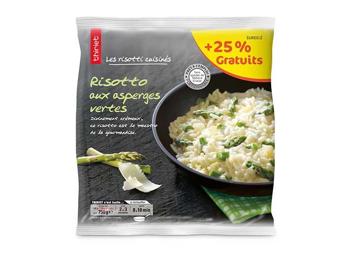 Risotto aux asperges vertes - Maxi format - 750 g