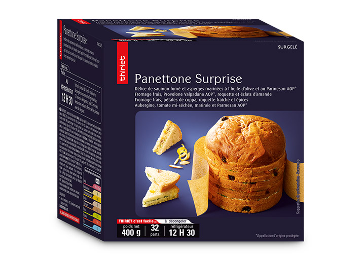 Panettone surprise - 32 sandwichs