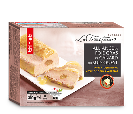 Alliance de foie gras de canard du Sud Ouest