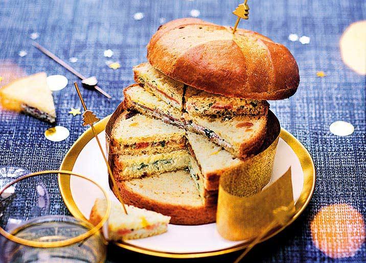 Panettone surprise - 32 sandwichs