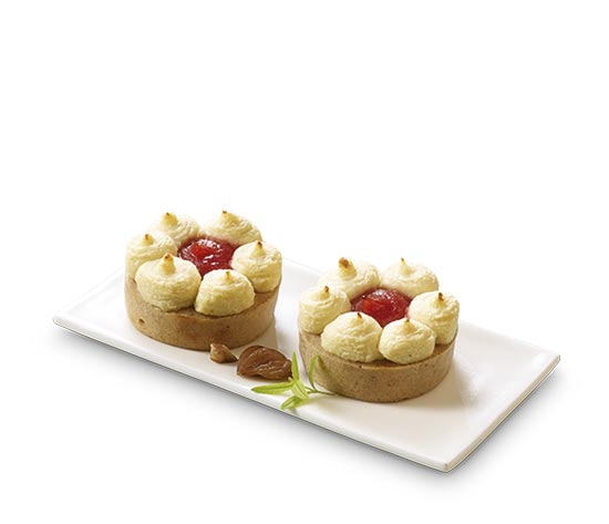 4 Couronnes au marron, céleri et pommes-airelles