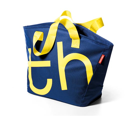 City Bag Bleu nuit/Jaune