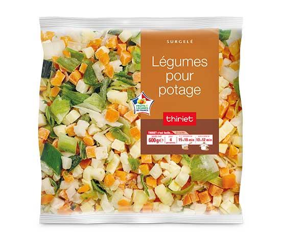 Légumes pour potage : le 2ème à -60%