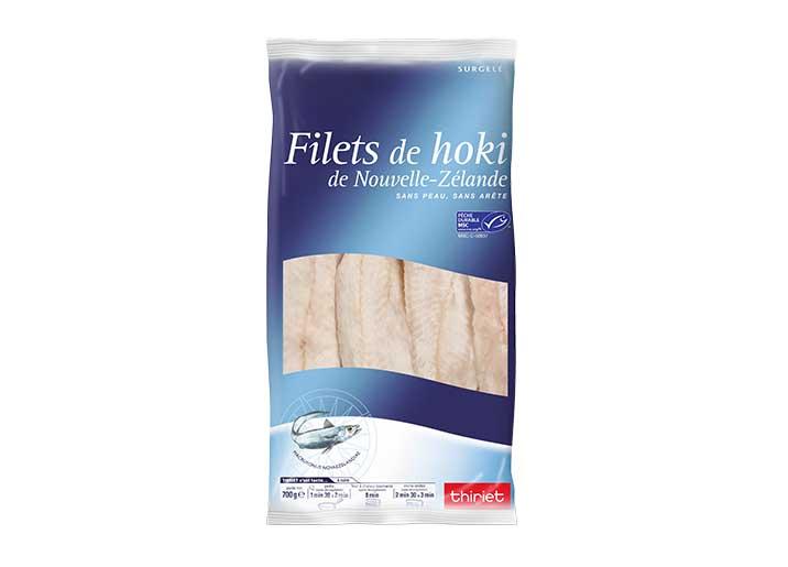 Filets de Hoki de Nouvelle-Zélande