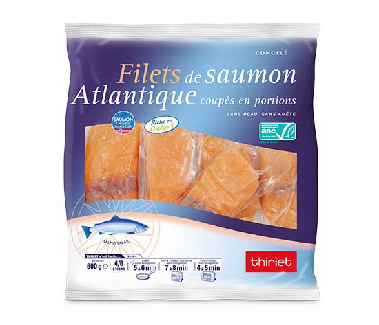 Filets de saumon Atlantique