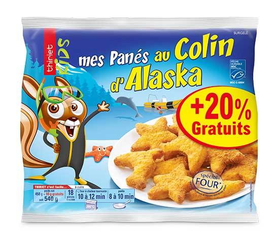 Mes panés au colin d'Alaska + 20% offert