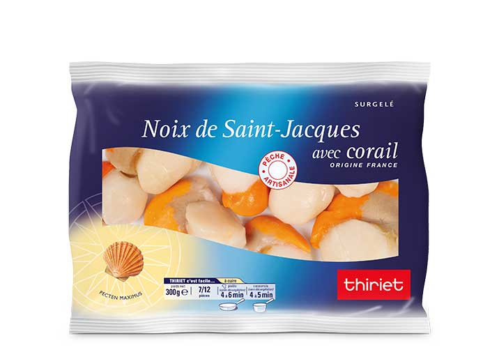 Noix de St-Jacques* - 7 à 12 pièces