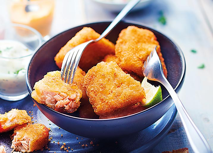 Nuggets de saumon