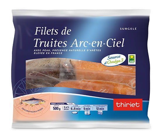 Filets de truite - Arc-en-Ciel