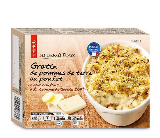 Gratin Pommes de terre/Poulet/Tomme de Savoie IGP