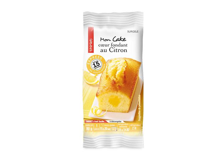 1 Cake cœur fondant au citron