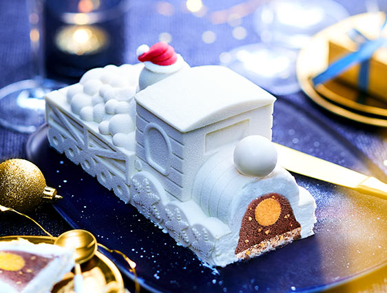 Voyage Enchanté chocolat blanc-chocolat avec éclats de noisettes