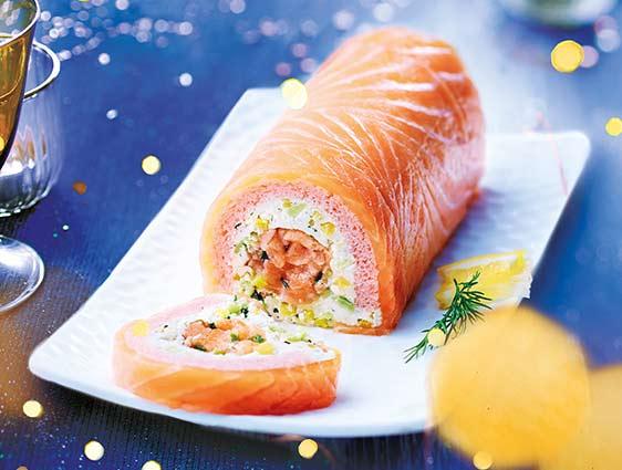 Délice aux deux saumons