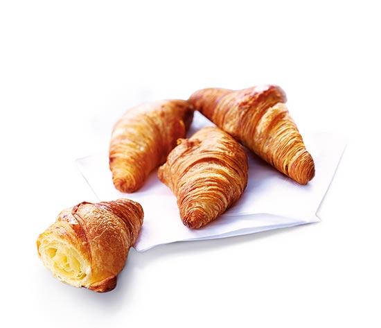 10 Mini croissants pur beurre + 4 offerts