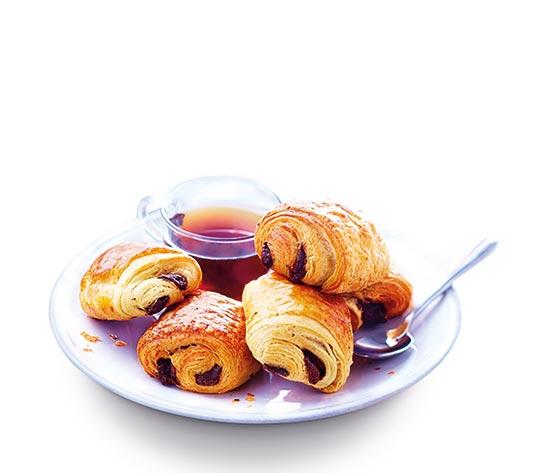 10 Mini pains au chocolat + 4 offerts