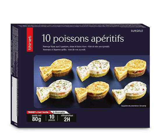 10 Poissons apéritifs