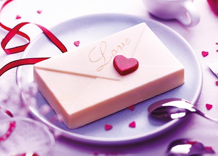 La lettre chocolat blanc/mangue passion pitaya
