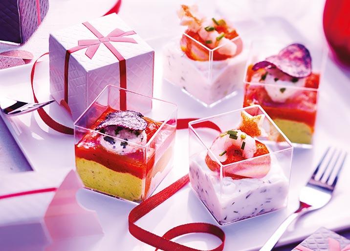 4 Mises en bouche cadeaux