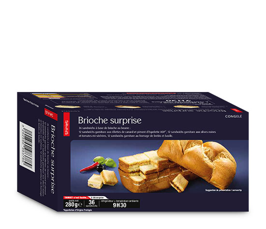 Brioche surprise