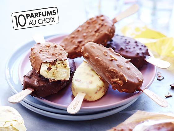 Glaces - Bâtonnets Select Menthe chocolat