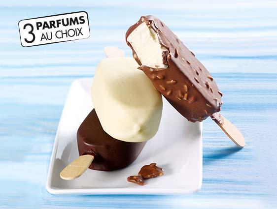 Bâtonnets glacés - Select Géant Vanille gousse enrobé de chocolat blanc