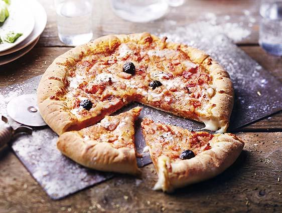 Pizza aux bords fourrés - Pizza'n cheese™ Classic