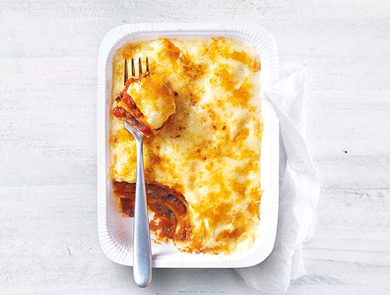 Plats individuels - Lasagnes à la bolognaise