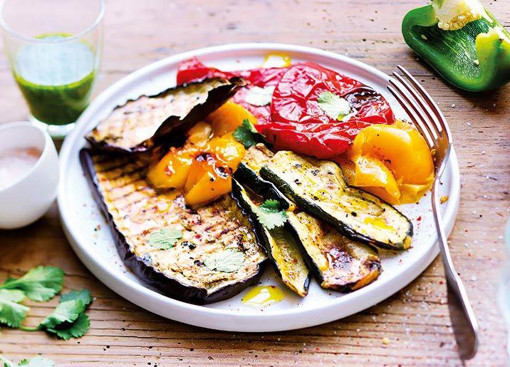 Mélange de légumes grillés